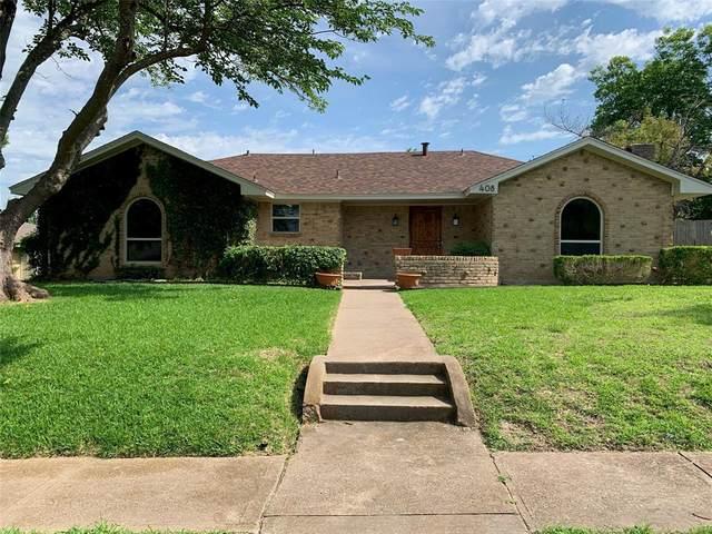 408 Riverwood Drive, Desoto, TX 75115 (MLS #14600447) :: Real Estate By Design