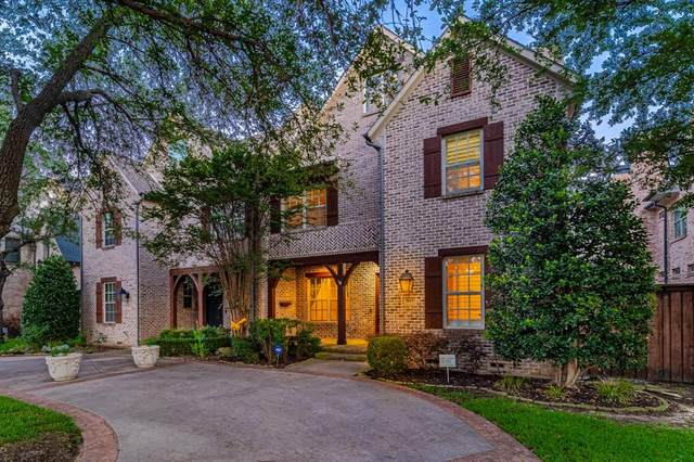 3815 Northwest Parkway, University Park, TX 75225 (MLS #14600541) :: All Cities USA Realty