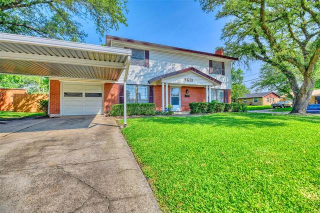 3601 Byrd Drive, Mesquite, TX 75150 (#14600804) :: Homes By Lainie Real Estate Group