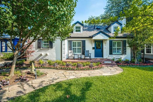 4606 W Amherst Avenue, Dallas, TX 75209 (MLS #14601128) :: All Cities USA Realty