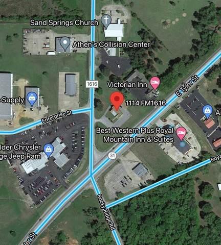 1114 Fm 1616, Athens, TX 75751 (MLS #14601148) :: Craig Properties Group