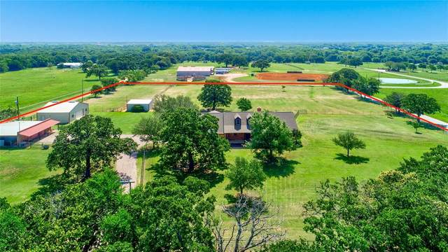 1020 Sanders Road, Whitesboro, TX 76273 (MLS #14601292) :: Results Property Group
