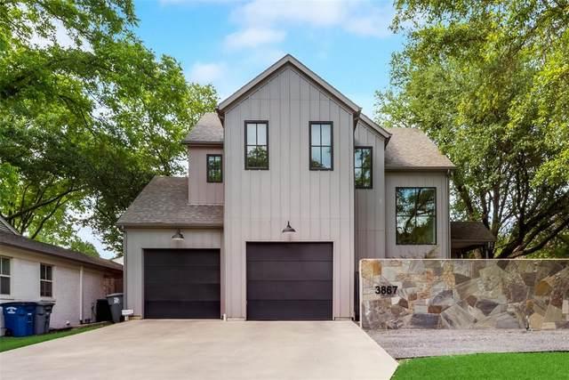 3867 Van Ness Lane, Dallas, TX 75220 (MLS #14601313) :: Real Estate By Design