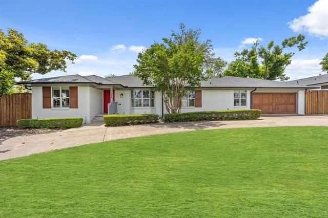 7614 Azalea Lane, Dallas, TX 75230 (MLS #14601381) :: Robbins Real Estate Group