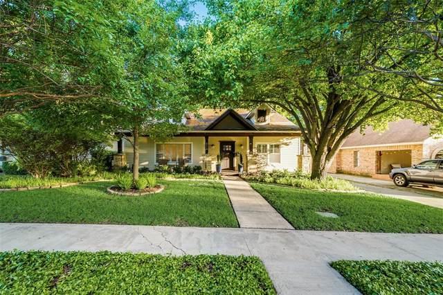5346 Goodwin Avenue, Dallas, TX 75206 (MLS #14601443) :: VIVO Realty
