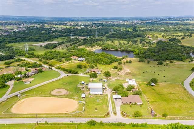 1400 Flat Rock Road, Azle, TX 76020 (MLS #14601470) :: Real Estate By Design