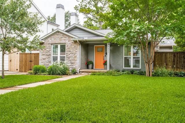 7411 Morton Street, Dallas, TX 75209 (MLS #14601739) :: The Chad Smith Team