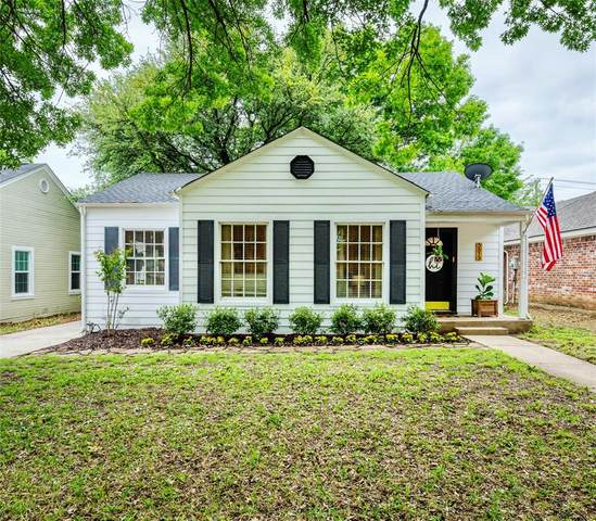5613 Pershing Avenue, Fort Worth, TX 76107 (MLS #14601786) :: The Good Home Team