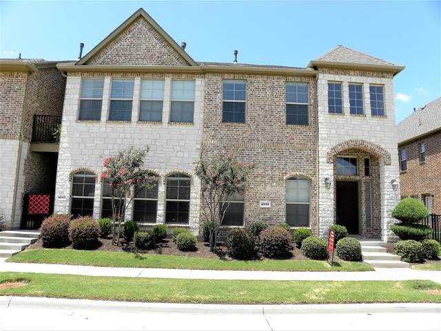 4245 Indian Run Drive, Carrollton, TX 75010 (MLS #14601817) :: Real Estate By Design