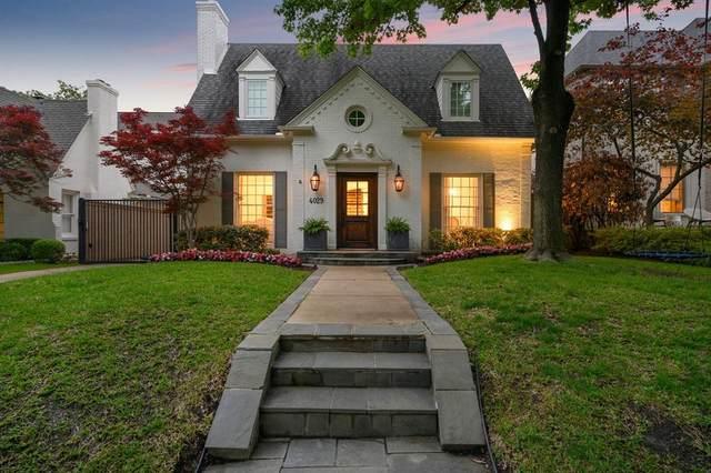 4029 Purdue Avenue, University Park, TX 75225 (#14601835) :: Homes By Lainie Real Estate Group