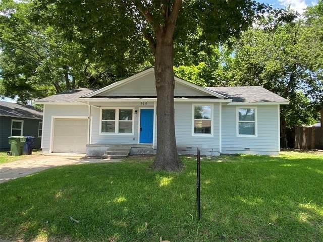 513 Morris Drive, Garland, TX 75040 (MLS #14601838) :: VIVO Realty