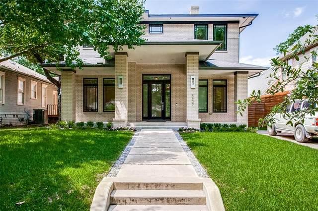 5407 Vickery Boulevard, Dallas, TX 75206 (MLS #14601899) :: Real Estate By Design