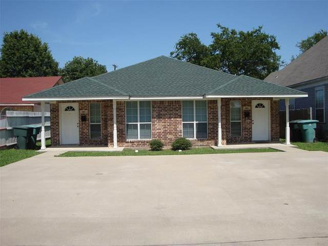 805 N Cleveland Avenue, Sherman, TX 75090 (MLS #14601971) :: Real Estate By Design