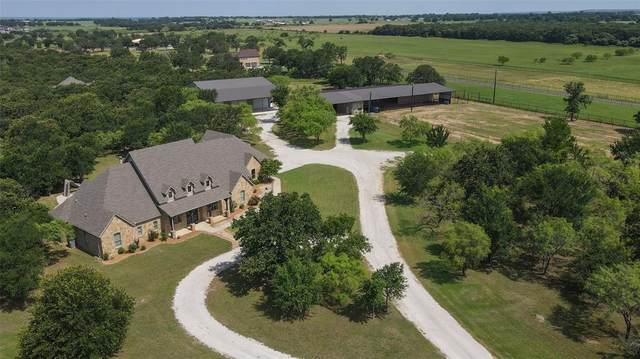 485 Russell Lane, Weatherford, TX 76087 (MLS #14601993) :: Real Estate By Design