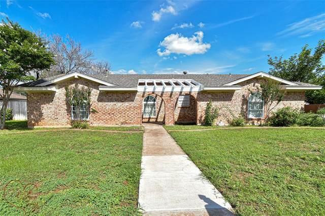 4757 Mourning Dove Lane, Abilene, TX 79606 (MLS #14602079) :: VIVO Realty