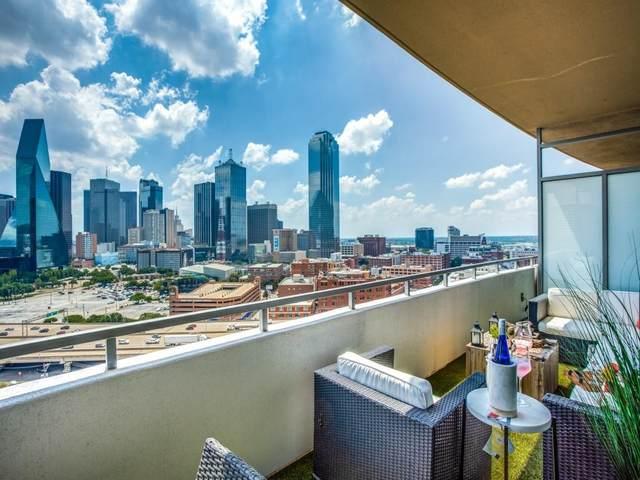 2200 Victory Avenue #1603, Dallas, TX 75219 (MLS #14602226) :: Premier Properties Group of Keller Williams Realty