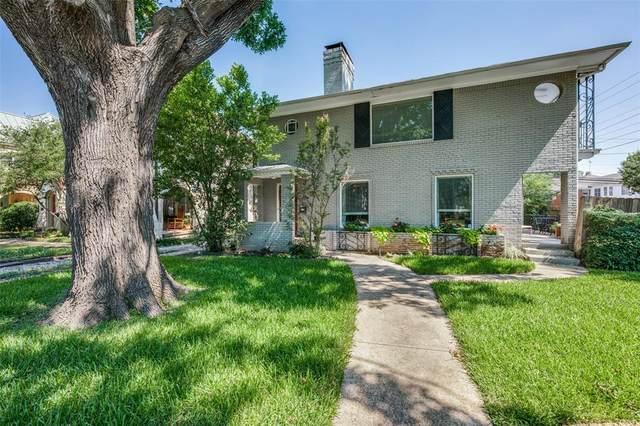 4200 University Boulevard, Dallas, TX 75205 (MLS #14602238) :: All Cities USA Realty