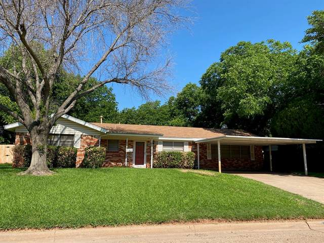 1538 Rosewood Drive, Abilene, TX 79603 (MLS #14602264) :: The Mitchell Group