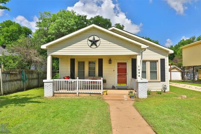 1026 Matador Street, Abilene, TX 79605 (MLS #14602596) :: Real Estate By Design