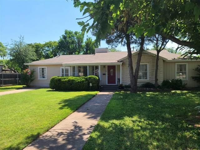 1341 Glenwood Drive, Abilene, TX 79605 (MLS #14602637) :: Real Estate By Design