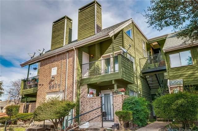 9831 Walnut Street P211, Dallas, TX 75243 (MLS #14602729) :: Real Estate By Design