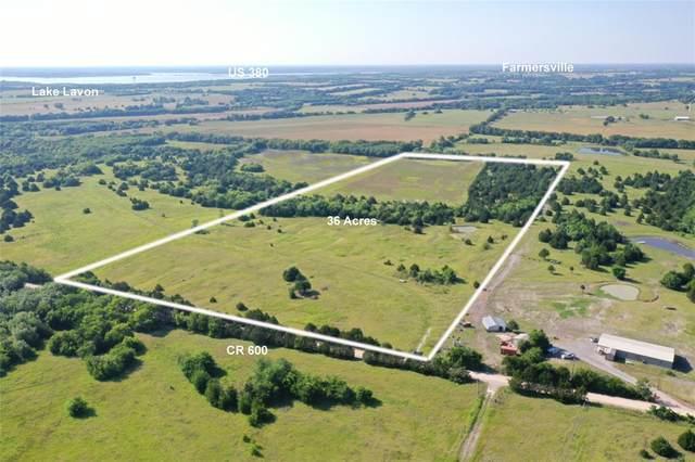 36 AC Cr 600, Farmersville, TX 75442 (MLS #14602801) :: All Cities USA Realty