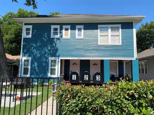 814 Elsbeth Street, Dallas, TX 75208 (MLS #14602840) :: Wood Real Estate Group