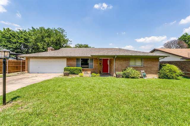 3621 Guadalupe Road, Fort Worth, TX 76116 (MLS #14602842) :: Real Estate By Design