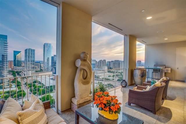 1717 Arts Plaza #1803, Dallas, TX 75201 (MLS #14602850) :: Premier Properties Group of Keller Williams Realty