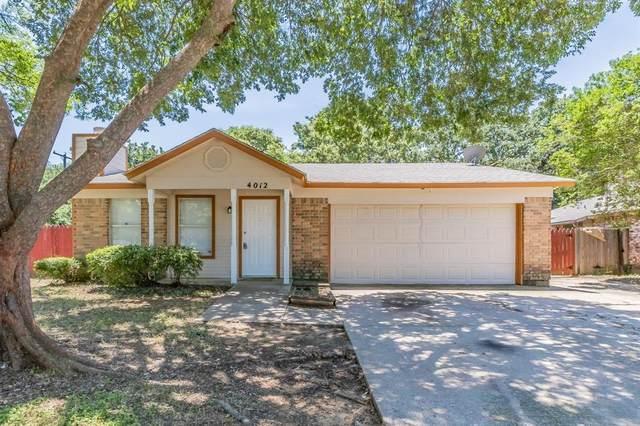 4012 Rye Glen Drive, Arlington, TX 76017 (MLS #14602952) :: Robbins Real Estate Group