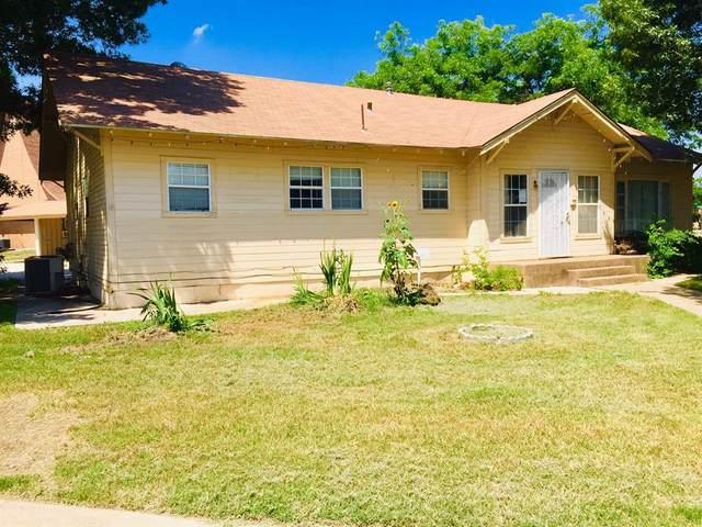 1600 S Colorado Street, Coleman, TX 76834 (MLS #14603064) :: Real Estate By Design