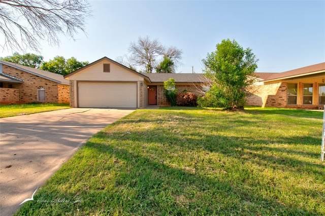 4826 S 6th Street, Abilene, TX 79605 (MLS #14603127) :: EXIT Realty Elite
