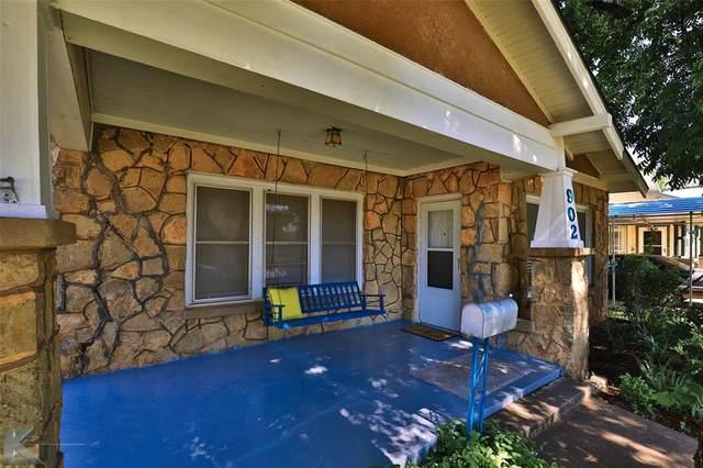 902 Victoria Street, Abilene, TX 79603 (MLS #14603394) :: Robbins Real Estate Group