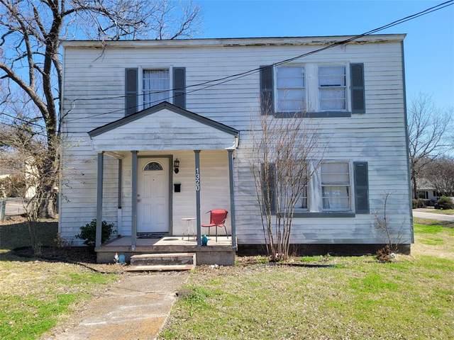 1320 N Gaines Street, Ennis, TX 75119 (MLS #14603553) :: 1st Choice Realty