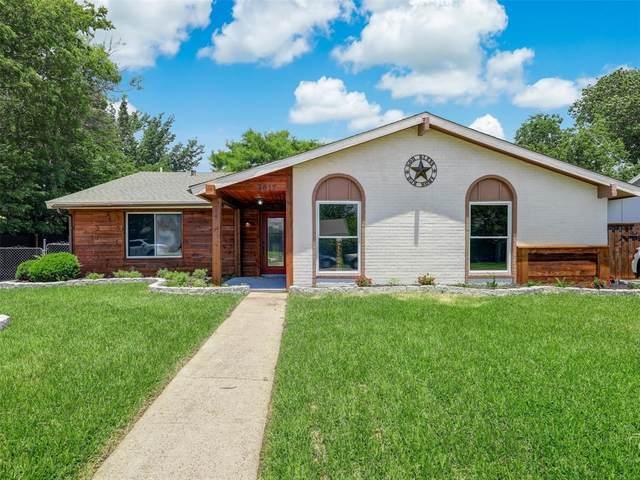 2017 Cedarwood Drive, Carrollton, TX 75007 (MLS #14603620) :: All Cities USA Realty