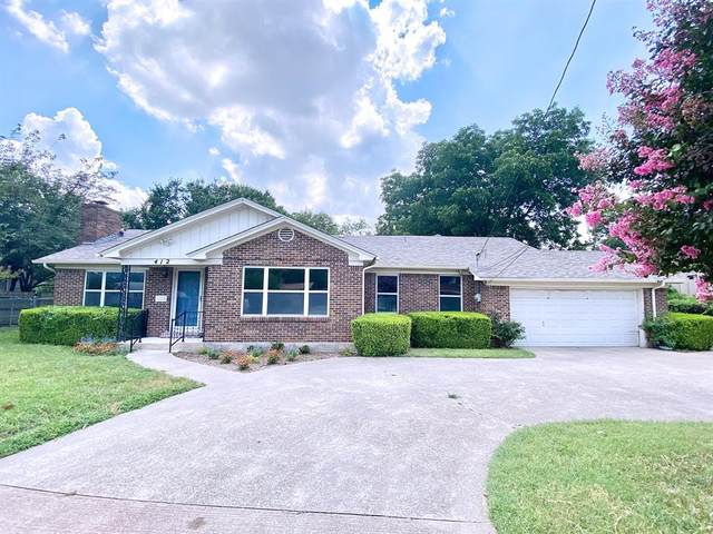 412 Paradise Street, Fort Worth, TX 76111 (MLS #14603859) :: Real Estate By Design