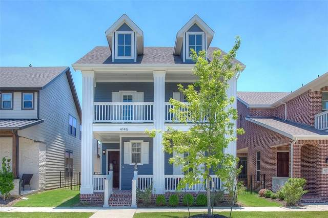 4145 Sechrist Drive, Frisco, TX 75034 (MLS #14604167) :: Robbins Real Estate Group
