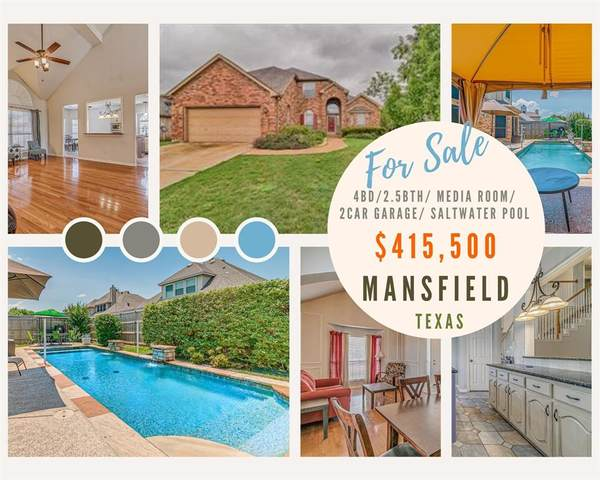 1613 Fairfax Drive, Mansfield, TX 76063 (MLS #14604194) :: Front Real Estate Co.