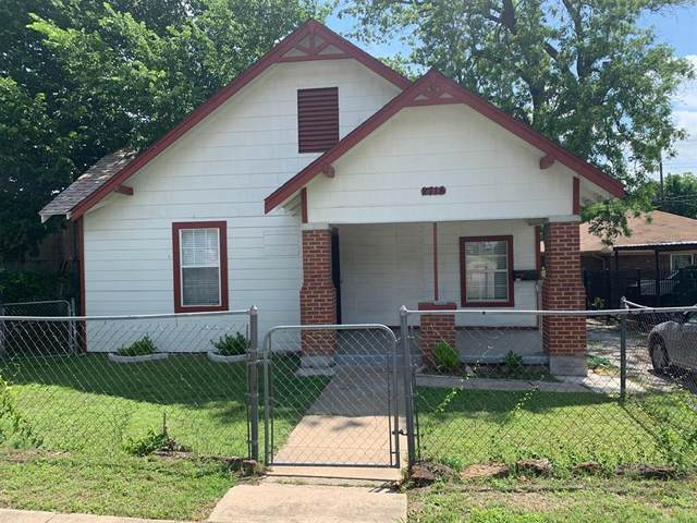 2718 Mckinley Avenue, Fort Worth, TX 76164 (MLS #14604234) :: Real Estate By Design