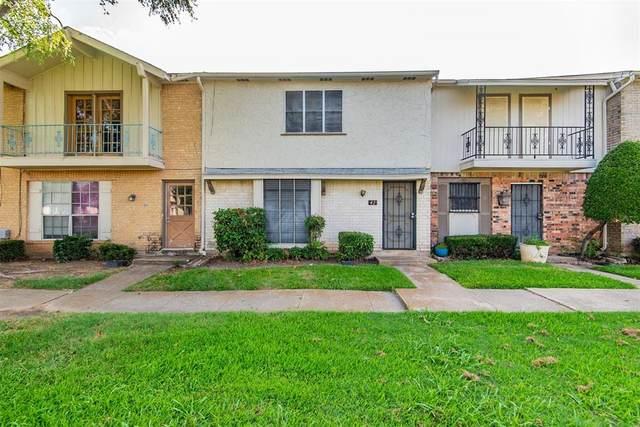 42 W Creek Lane #3, Grand Prairie, TX 75052 (MLS #14604264) :: The Great Home Team
