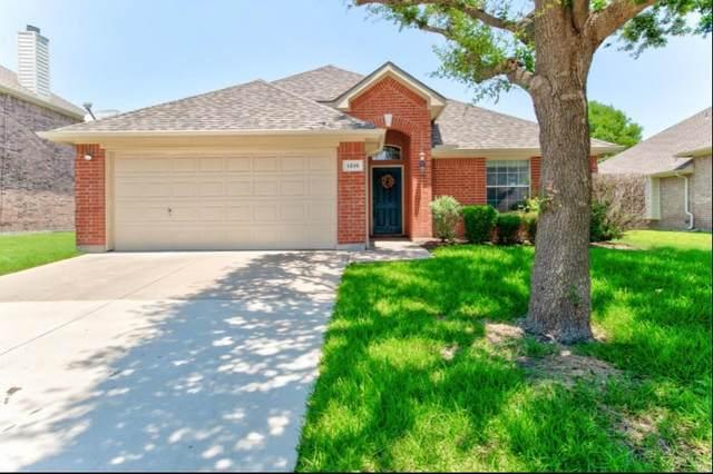 1216 Lake Forest Drive, Grand Prairie, TX 75052 (MLS #14604362) :: The Chad Smith Team