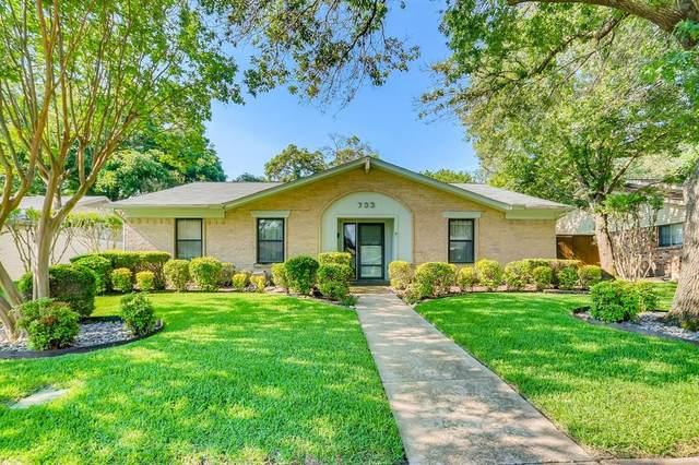 733 Brentwood Lane, Richardson, TX 75080 (MLS #14604449) :: The Good Home Team