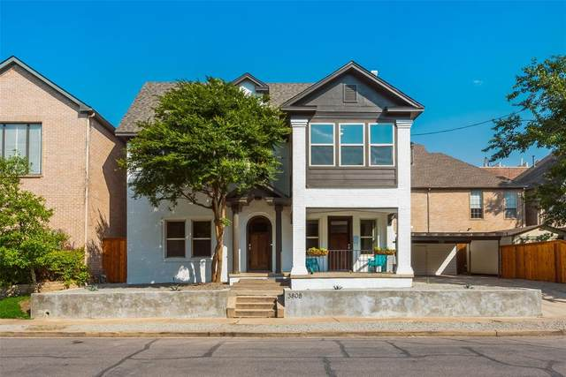 3808 Herschel Avenue, Dallas, TX 75219 (MLS #14604457) :: Team Tiller