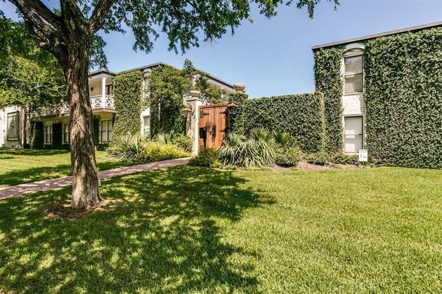 5925 E University Boulevard #132, Dallas, TX 75206 (MLS #14604469) :: The Good Home Team