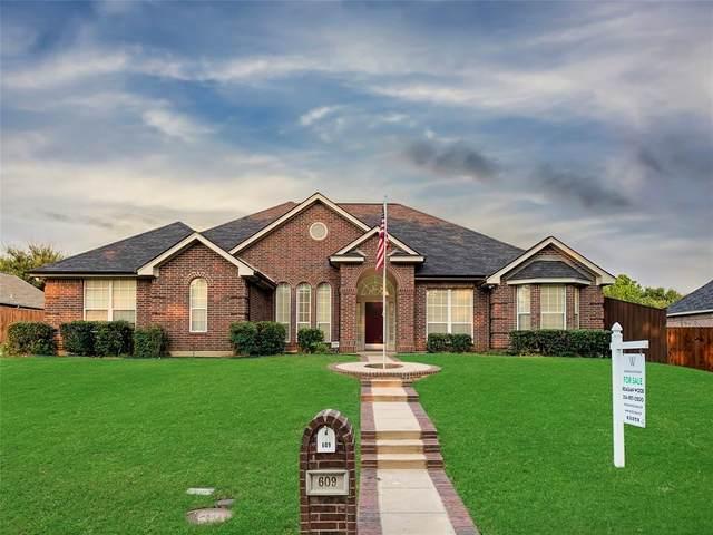 609 Ticonderoga Drive, Denton, TX 76205 (MLS #14604518) :: Robbins Real Estate Group