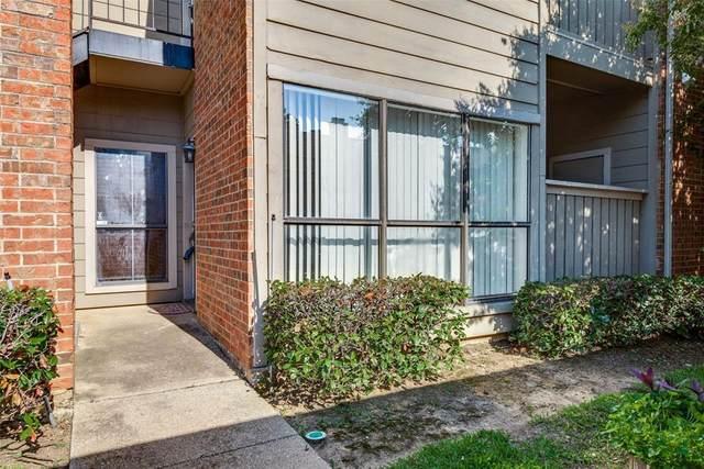 2105 Count Fleet Drive #203, Arlington, TX 76011 (MLS #14604580) :: Front Real Estate Co.
