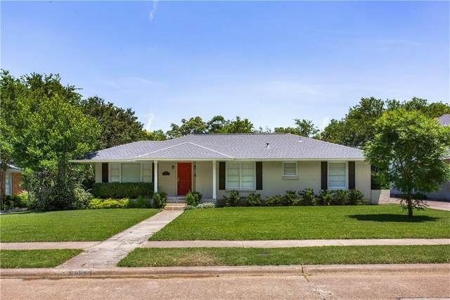 3957 Gaspar Drive, Dallas, TX 75220 (MLS #14604587) :: The Chad Smith Team