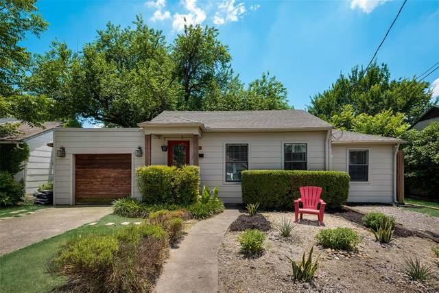 5838 La Vista Drive, Dallas, TX 75206 (MLS #14604601) :: The Good Home Team