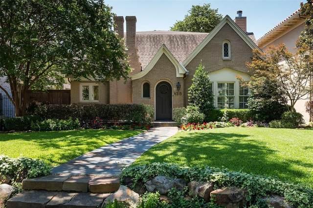 4215 San Carlos Street, University Park, TX 75205 (MLS #14604925) :: HergGroup Dallas-Fort Worth