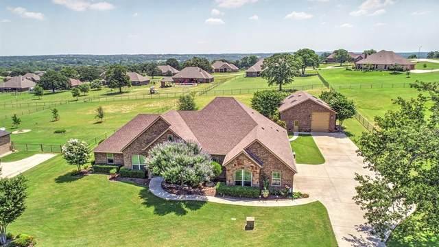 155 Ellis Creek Drive, Weatherford, TX 76085 (MLS #14605398) :: The Hornburg Real Estate Group